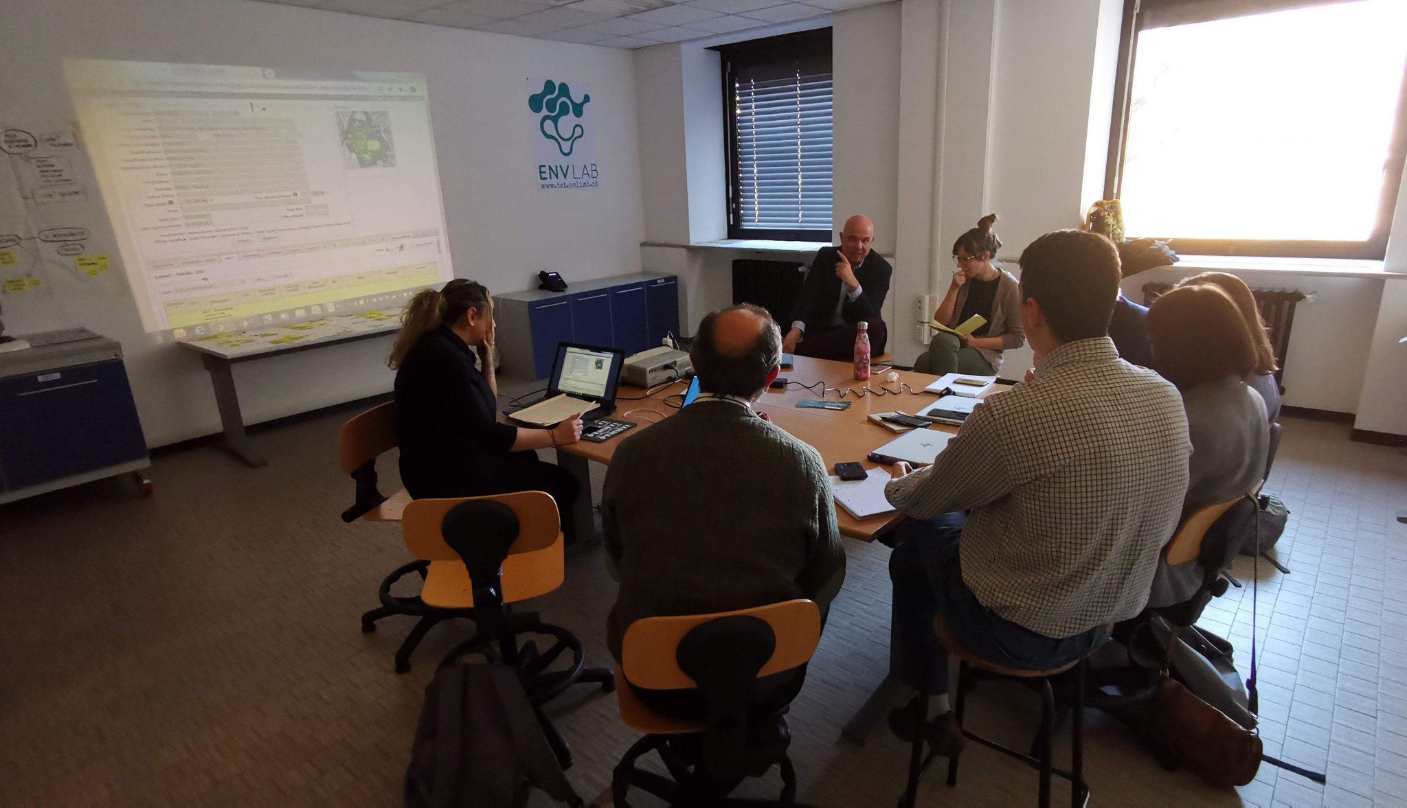 Meeting EnvLAB Biodiversità   12/2