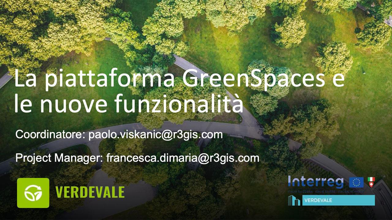La piattaforma Green Spaces e le nuove funzionalita-Bolzano